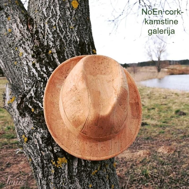 imusau.lt | parduodama Stilinga kamštinė skrybėlė madingiems vyrams