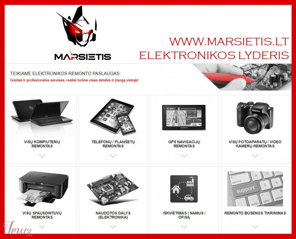 imusau.lt   parduodama WWW.MARSIETIS.LT - ELEKTRONIKOS LYDERIS VISOJE LIETUVOJE
