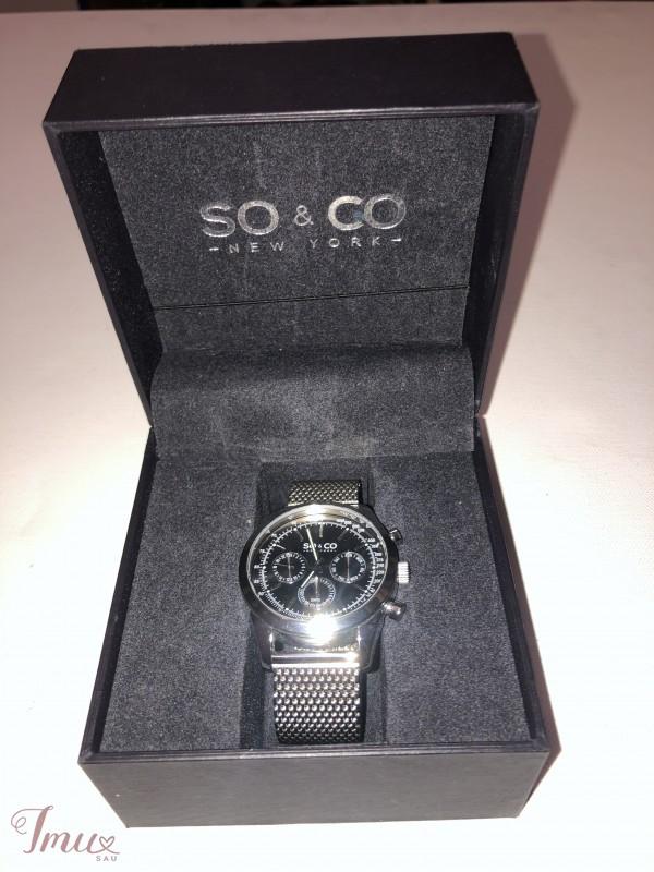 imusau.lt | parduodama SO & CO sidabrinis laikrodis