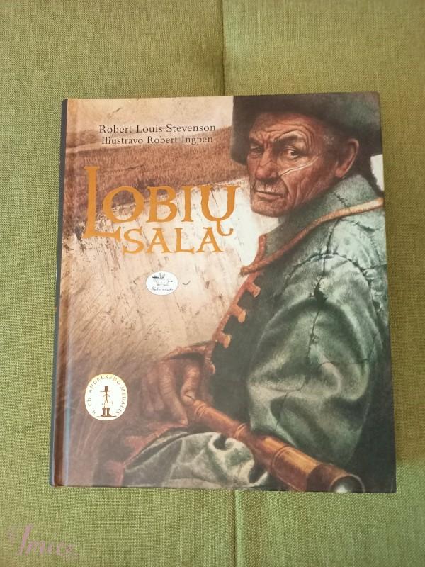 imusau.lt | parduodama Knyga Lobių sala